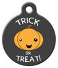 Dog Tag Art Trick or Treat Pet ID Dog Tag