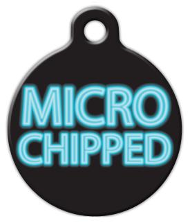Dog Tag Art Micro Chipped Pet ID Dog Tag