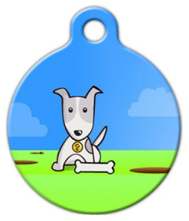 Dog Tag Art Got Bone Pet ID Dog Tag