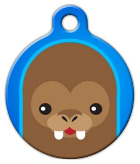 Dog Tag Art Cute Walrus Pet ID Dog Tag