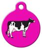 Dog Tag Art Holstein Cow Pet ID Dog Tag