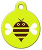 Dog Tag Art Bumble Bee Pet ID Dog Tag