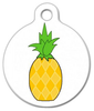 Dog Tag Art Pina Colada Pet ID Dog Tag