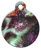 Dog Tag Art Colorful Starfield Nebula Pet ID Dog Tag