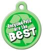 Dog Tag Art Recycled Pet ID Dog Tag