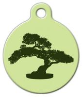 Dog Tag Art Bonsai Tree Pet ID Dog Tag