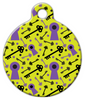 Dog Tag Art Lock and Key Pet ID Dog Tag