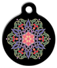 Dog Tag Art Nouveau Arabesque Pet ID Dog Tag