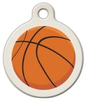 Dog Tag Art Basketball Pet ID Dog Tag