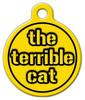 Dog Tag Art Steelers Terrible Cat Pet ID Dog Tag
