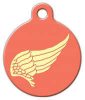 Dog Tag Art Achilles Wing Pet ID Dog Tag