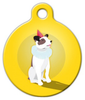 Dog Tag Art Life of the Party Pet ID Dog Tag