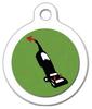 Dog Tag Art Vacuum is Satan Pet ID Dog Tag