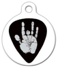 Dog Tag Art Garcia's Hand Pet ID Dog Tag