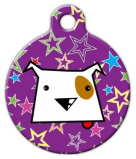 Dog Tag Art Dog Star Pet ID Dog Tag
