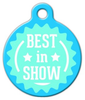 Dog Tag Art Best in Show Seal Pet ID Dog Tag