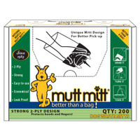 Mutt Mitt Pick Up Bags - 200 Count Box (F2710) Front