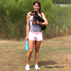 Sadie and her mom taking a walk wearing Coastal Pet K9 Explorer Collar and Leash