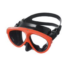 GULL Mantis 5 Black silicone w/BS Orange frame, RX