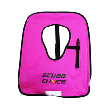 Scuba Choice Diving Snorkeling Adult Purple Snorkel Vest w/ Name Box, Size XL