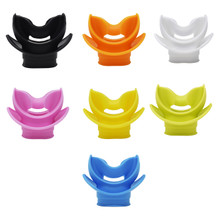 Scuba Choice Silicone Regulator Comfort Bite Mouthpiece with Lip Shield