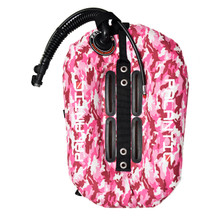 Palantic Diving Donut Wing Single Tank 30lbs, Pink Camo w/ White Accent