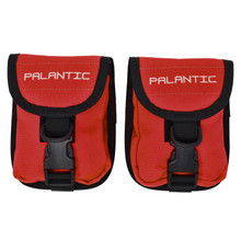 Palantic Scuba Diving Weight Pocket Pouch with QR Buckles, Pair