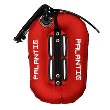 Palantic Diving Donut Wing Single Tank 30lbs, Red w/ Black Accent
