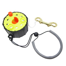 Scuba Dive 100FT Finger Reel Spool w/ Spin/Lock Latch, and Lanyard