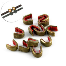 Safari Choice Bow String Nocking Points Brass Buckle Clip Nocks (Pack of 10)