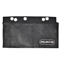 """Palantic Scuba Tech Diving Mesh Accessories Carry Pouch For Backplate, 14"""" x 7"""""""