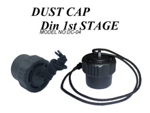 Scuba Diving Regulator First Stage Dust Cap with attachment string, DIN