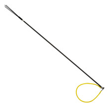 HEAVY DUTY CARBON FIBER 5' Travel Spearfishing One Piece Pole Spear 3 Prong Tip