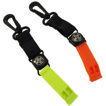 Scuba Diving Mini Compass and Safety Whistle