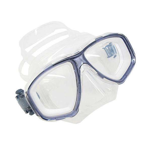 a320f9296d4 Scuba Titanium Blue Dive Mask NEARSIGHTED Prescription RX Optical ...