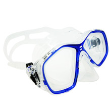 Palantic Blue Jr. Diving/Snorkeling Prescription Dive Mask with RX Lenses