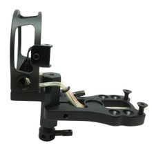 "Safari Choice Black 5-Pin 0.019"" Tool-Less Design Bow Sight"