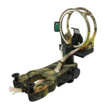 "Safari Choice Camouflage 5-Pin 0.019"" Tool-Less Design Bow Sight"