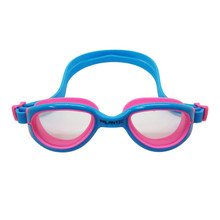 Palantic Jr. Silicone Swim Goggles, Blue/Pink