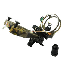 Safari Choice Archery 5-Pin Matt Anodize Bow Sight, Camouflage
