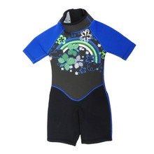 Kiddi Choice Kids 2.5mm Neoprene Short Sleeve Wetsuit Black/Blue