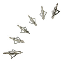 Safari Choice 3 Fixed Blades Broadhead, 6pc Pack