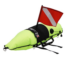 Scuba Choice Diving Spearfishing Torpedo Float w/ Oral Inflator & Dive Flag