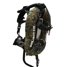 Palantic Donut Wing Single Tank Harness System, Green Camo