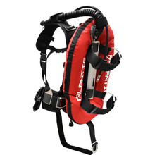 Palantic Donut Wing Single Tank Harness System, Red