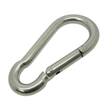 Boat Marine Clip 10cm Stainless Steel Snap Hook Carabiner 11mm Opening