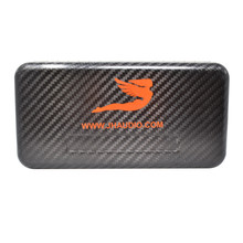 Safari Choice 100% Carbon Fiber Fly fishing Fly Box Foam Case Magnetic Closure