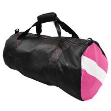 Scuba Choice Collapsible Mesh Duffle Bag for Dive Equipment w/Shoulder Strap, Pink