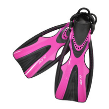 Scuba Choice Glide Magenda Lady's Dive Fin with Bungee Strap