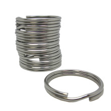 Scuba Diving 32.3mm Stainless Steel 2mm Split Ring for BCD attachment 10pc Pack